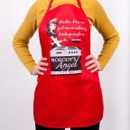 APRON with model
