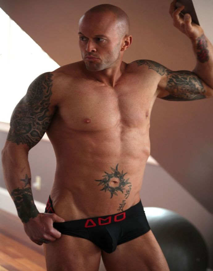 2013 Official Alpha Male Underwear Image Model John Quinlan small