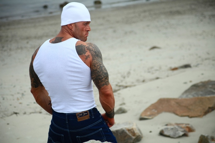 The Most Tattooed Male Romance Cover Model in the World John Quinlan small