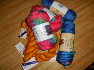 various yarns