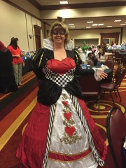 Heather Long rocking the Disney theme!