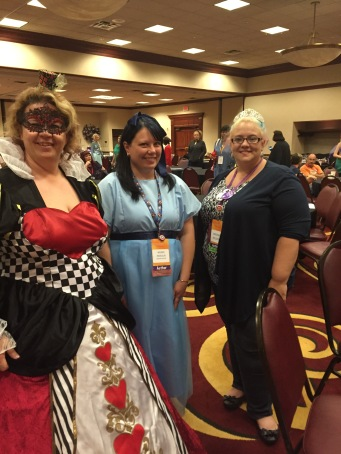Heather Long, Wendy Zwaduk (as Wendy, of course!) and Virginia Nelson