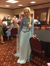 Debbie Ramos, Frozen to the spot. Yes, the shoes were totally worth it!